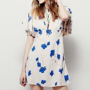 Free People Melanie mini floral dress 6